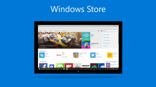 Новый акцент на Windows Store